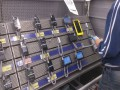 Metro Cash & Carry Уфа. Системы защиты товаров на стеллажах Optiguard (Польша)  EAS Service Противокражные системы