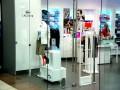 Противокражная система Aquila и металлодетектор Alert MetalGuard в Lacoste (тц Вегас, г. Москва) EAS Service Противокражные системы